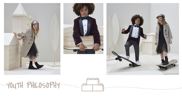 BRUNELLO CUCINELLI童装系列 自然呈现出儿童的天真烂漫