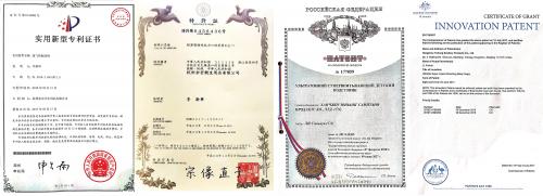 通透/DKJ专利技术证书