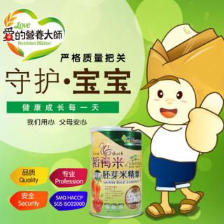 爱的营养大师米粉升级版稻鸭米蔬果胚芽米精华