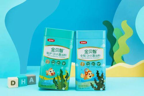 金贝智聪护DHA藻油粉和全聪DHA藻油粉