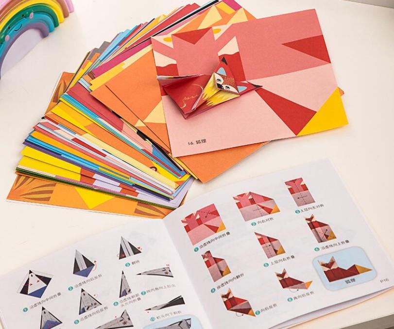 得力婴童玩具送孩子一款趣味折纸 享受纯粹的亲子时光