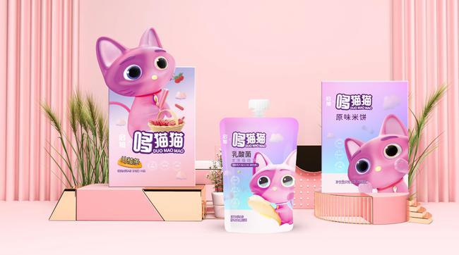 新锐婴童食品品牌哆猫猫 让儿童零食好吃更健康