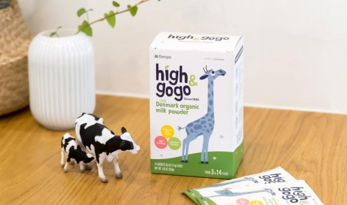 丹普斯Denps长高高有机奶粉 专为三岁以上儿童研发