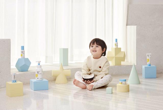七色蝌蚪蓄势全新婴童洗护系列 给宝宝皮肤天然抵抗力