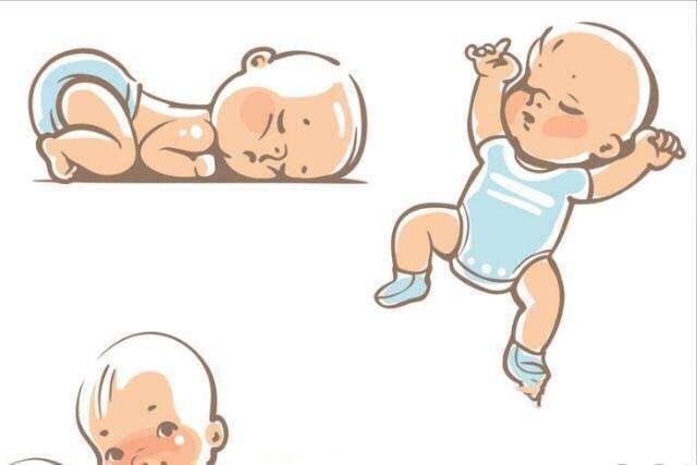 哪些睡觉姿势对婴儿来说最安全?