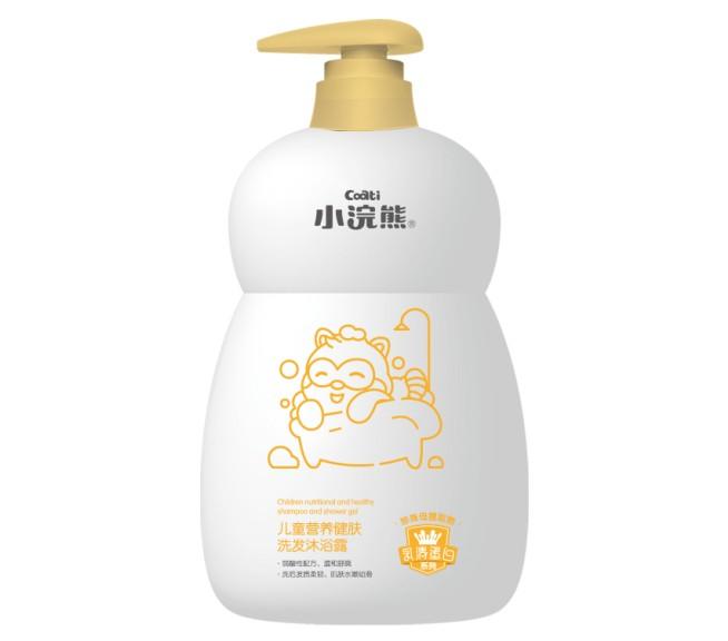 小浣熊儿童营养健肤洗发沐浴露