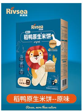 禾泱泱婴幼儿稻鸭原生米饼